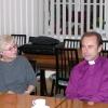 Farnost Brno - biskupská vizitace 2003, ekumenický host z ČCE O. Tydlitátová