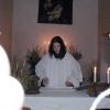 Farnost Praha - křest v kapli Svaté rodiny 2003