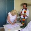 Farnost Praha - svatba v IKEMu 2005