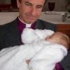 Farnost Šumperk - vizitace biskupa a křest Kristýnky 2008