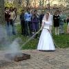 Farnost Tábor - hasičská svatba 16. dubna 2005