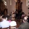 Farnost Tábor - křest Barbory Nagyové 12. května 2006