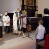 Farnost Tábor - křest Davida Lukáše Rajca 30. října 2005