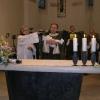 Katedrální chrám sv. Vavřince - návštěva arcibiskupa a křest Vítka Boldiše 2005