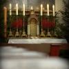 Katedrální chrám sv. Vavřince - Půlnoční 2014
