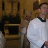 Katedrální chrám sv. Vavřince - půlnoční eucharistie - Vánoce 2011
