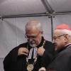 Joel Ruml (synodní senior ČCE a předseda ERC) a Miroslav kardinál Vlk